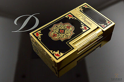 ST Dupont Travel in Time Ligne 2 Hermitage Yellow Gold Limited Edition Lighter