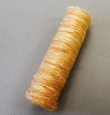 Sausage casings OLD FASHIONED COLLAGEN ROUNDS  47mm x60 FEET OF CASING ) (90 lb)