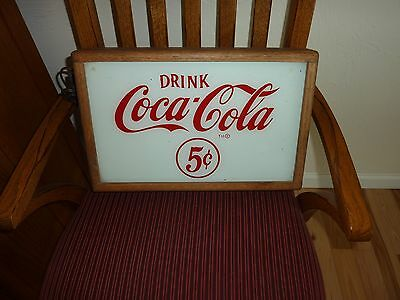 Lighted Coca-Cola Sign