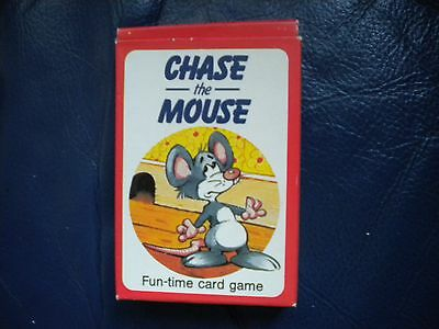 vintage chase the mouse card game