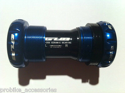 New GUB Ceramic Bottom Bracket (Blue) for Shimano / FSA / Race Face