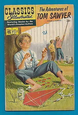Classics Illustrated Comic # 50  The Adventures of Tom Sawyer #782