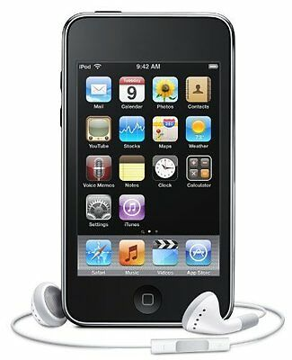 New  genuine Apple iPod Touch 2nd Gen black 8gb (discontinued by manufacturer)