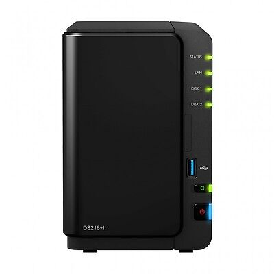 Synology DS216+II NAS Scrivania Collegamento ethernet LAN Ne DS216PII