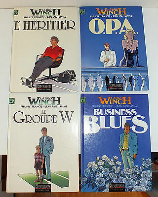 Lot BD EO Largo Winch Tome 1/2/3/4