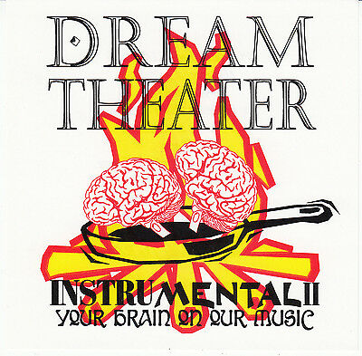 DREAM THEATER 1985-1993 InstruMental II Original CD Rush YYZ Kevin Moore Majesty