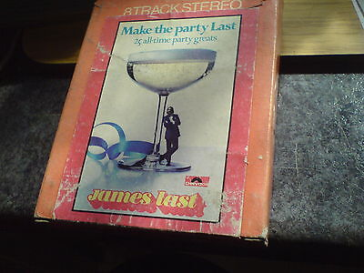 8 Track Tape - James Last - Make The Party Last