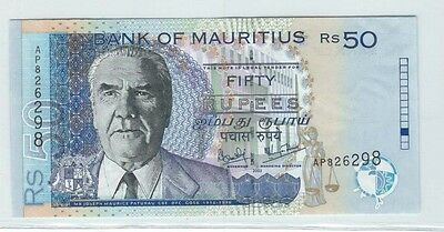 Bank of Mauritius 50 Rupees banknote  - see scans