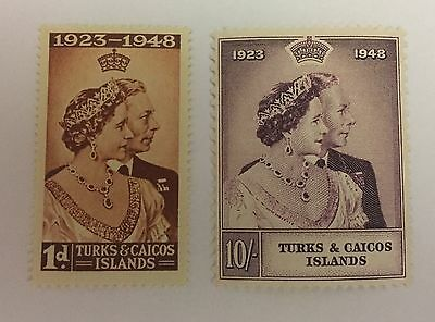 Turks And Caicos Island Sg 208/209 Mint Cat £14
