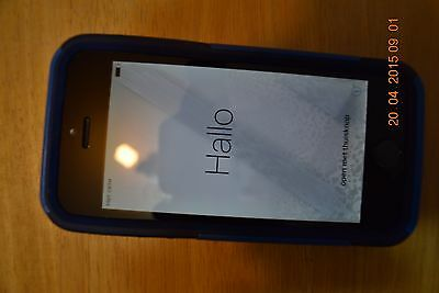 iPhone 5S--2 Years old-Space Grey--Otter Box--Rodgers Locked-Manufactured 2014-