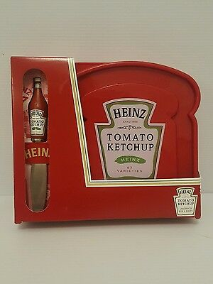 Heinz Tomato Ketchup collectors sandwich box and knife