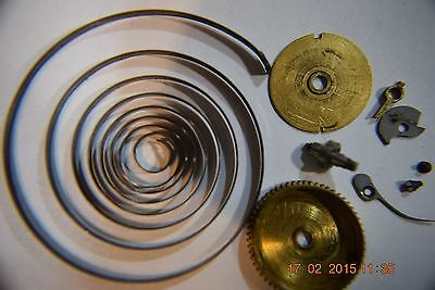 1882 Illinois--America--18 S--7J--Model 1--MAINSPRING PARTS--Good Condition