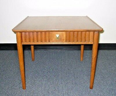 VINTAGE DREXEL HERITAGE END TABLE Coffee Table One Drawer DANISH MID CENTURY MOD