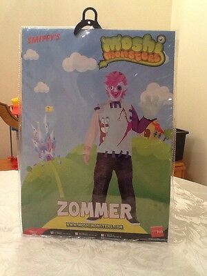New Kids Fancy Dress Moshi Monsters Zommer Age 4-6