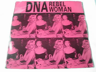 "DNA (Jazzy P) - REBEL WOMAN - EMI 7"" - OFF CENTRE LABEL"