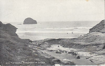 Postcard - Tintagel: Trebarwith Sands