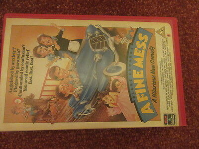 A Fine Mess Blake Edwards Starring Ted Danson  Vhs Tape