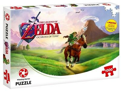 Winning Moves The Legend of Zelda Ocarina of Time 1000 Teile Puzzle NEU NEW
