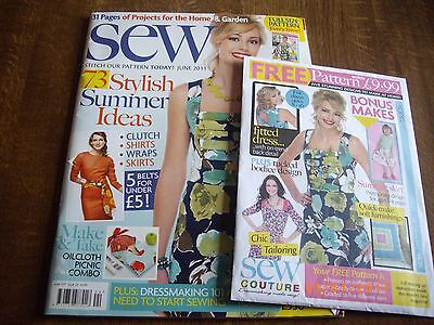 Sew Magazine issue 24 including pattern