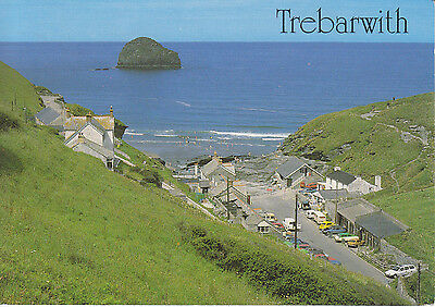 Postcard - Trebarwith and Gull Rock