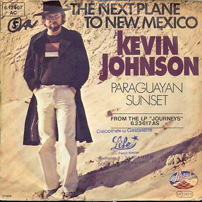 Johnson Kevin - The next plane to New Mexico
