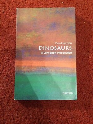 Dinosaurs A Very Short Introduction By David Norman Paperback Book