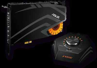 Asus Strix Raid DLX PCI EXPRESS 7.1 Gaming Sound Card Set