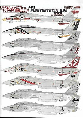 Fightertown 1/48 F-14A Tomcats Fightertown USA Part 2 - FTD48080