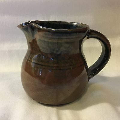 """Vintage Signed Ray Finch Winchcombe Pottery 3 1/4"""" Stoneware Jug"""