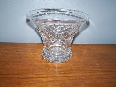 Lovely Stuart Cut Crystal Vase