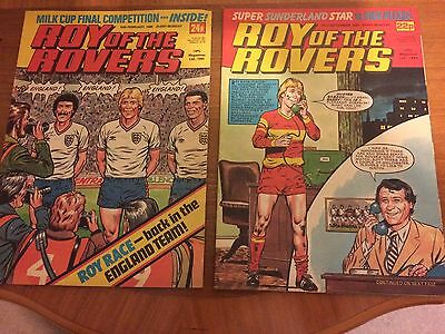 Comics Roy Of The Rovers 1984-85