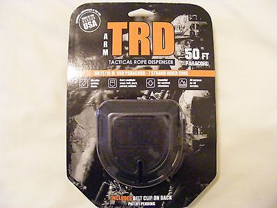 Atwood TRD Tactical Rope Dispenser-Black