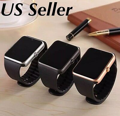 Latest 2017 GT08 ,Bluetooth Smart Watch Phone Wrist Watch for Android and iOS US