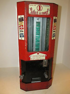 Vintage coin op, Candy Machine 1 cent Select-O-Vend, ca. 1945
