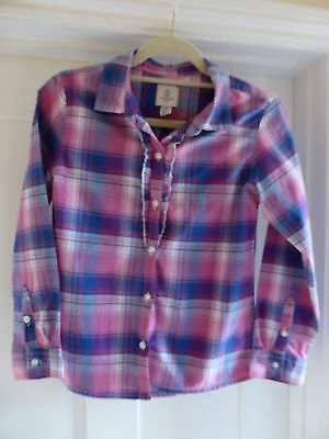 Lands' End Kids Girl's Shirt Size 10-11 Years