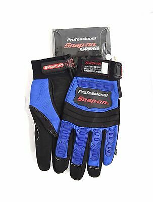 New Snap-On Professional Mechanic Gloves BLUE Small Workwear S Engineer