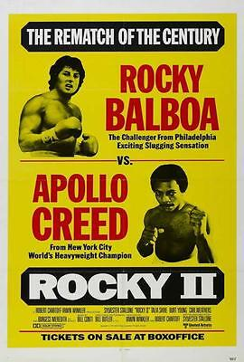 Rocky 2 Movie POSTER 11 x 17 Sylvester Stallone, Talia Shire, A, LICENSED NEW