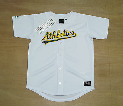 Oakland Athletics - Youth 8-10 Years Old - Majestic MLB Baseball Jersey - New
