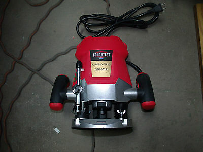 ToughTest QD6802R Electric Corded Plunge Router 1/2""