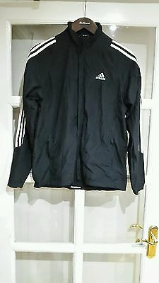 Mens Tracksuit Top adidas Size - S