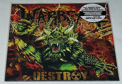 Warbeast - Phil Anselmo Destroy LP Extreme Limited * RED * VINYL LP NEW