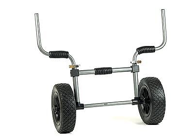 Ruk Sports Heavy Duty Sit On Top Trolley With Solid PU Wheels.