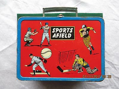 Vintage Atco Sports Afield Metal Lunchbox