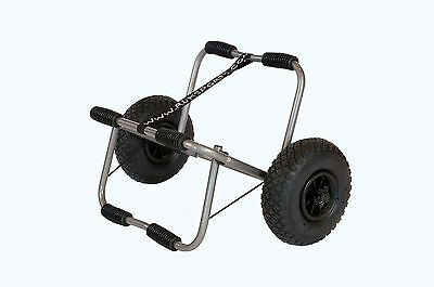 Ruk Sports Heavy Duty Canoe Trolley with puncture proof Solid PU wheels