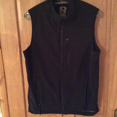 Noble outfitters black gillet size S