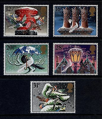 Sg1231-1235 1983 Xmas ~ Unmounted Mint Gb