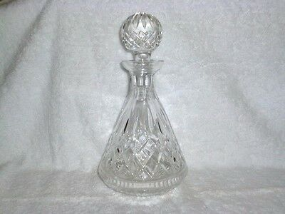 Waterford Crystal Lismore Roly Poly Decanter With Stopper
