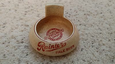 Rainier Pale Beer Ashtray Seattle Brewing And Malt Company