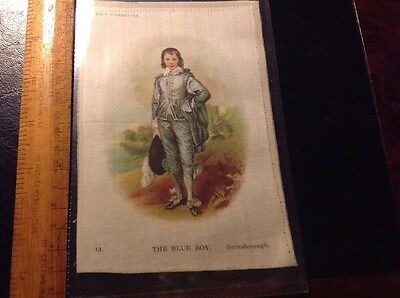 Godfrey Phillipps Cigarette Card Silk - Old Masters Postcard Size From 1912