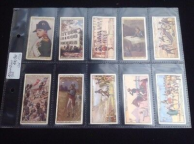 Cigarette Cards, Players Full Set Napoleon 1916